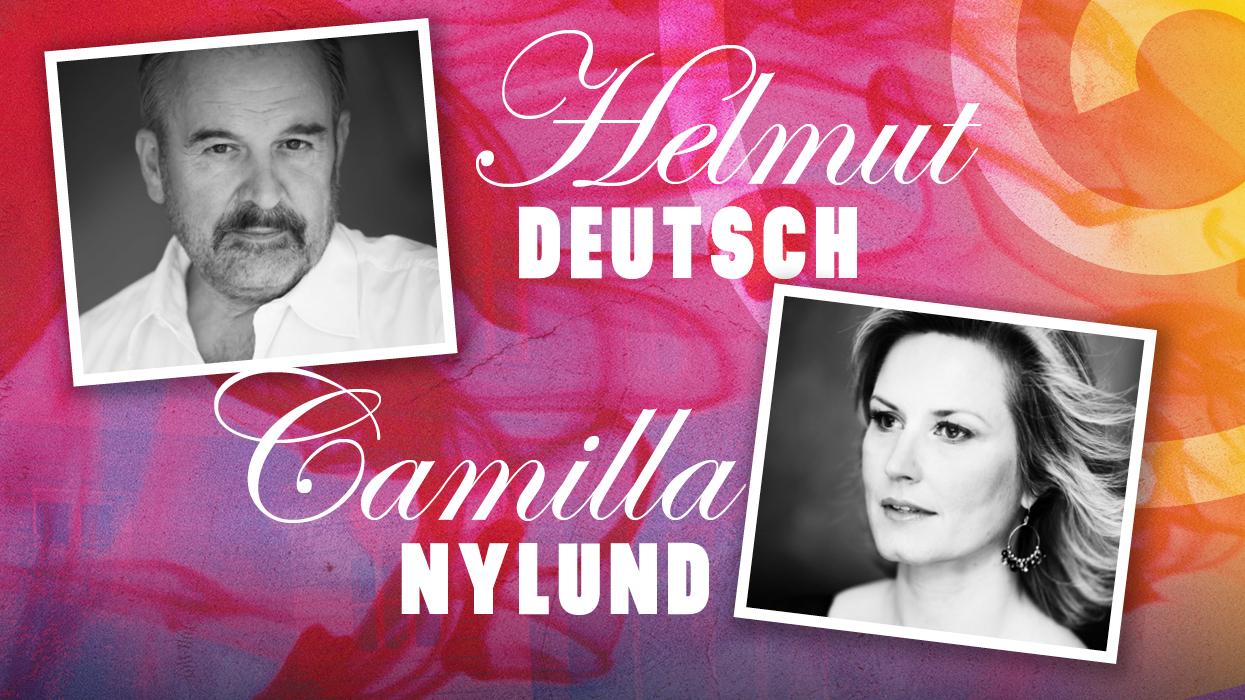 Camilla Nylund ja Helmut Deutsch
